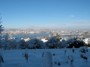 Overlooking Cardiff Bay From Penarth